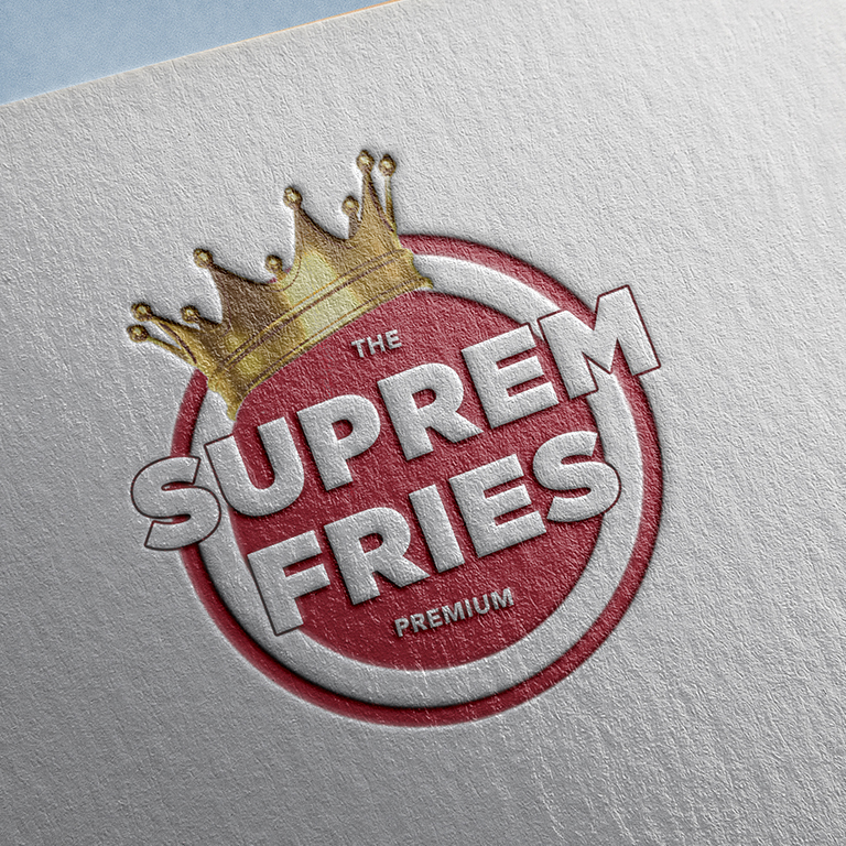 Design de logo pour fast food